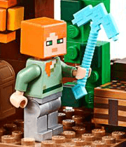 LEGO Minecraft The Jungle Tree House Steve
