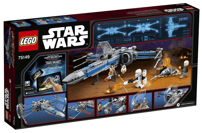 lego star wars resistance x wing fighter 75149 review