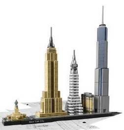 lego new york architecture