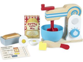 melissa and dougs make a cake mixer set review