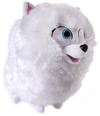 ba4090bffc6 Review of Secret Life of Pets Gidget Talking Plush Buddy - Hot Toys  Headquarters