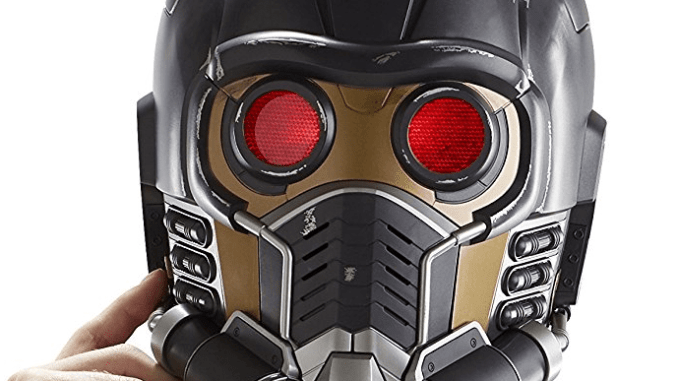 MARVEL GUARDIAN OF THE GALAXY STARLORD ELECTRONIC HELMET Review