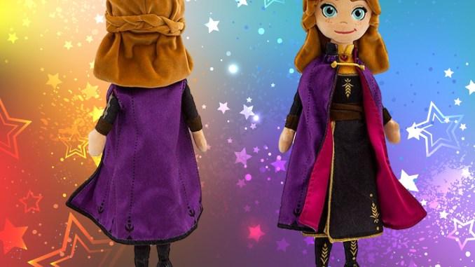 Frozen 2 Anna Plush Doll Review