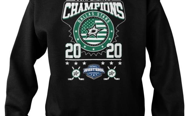 Dallas Stars Conference Champions Nhl Western 2020 Shirt