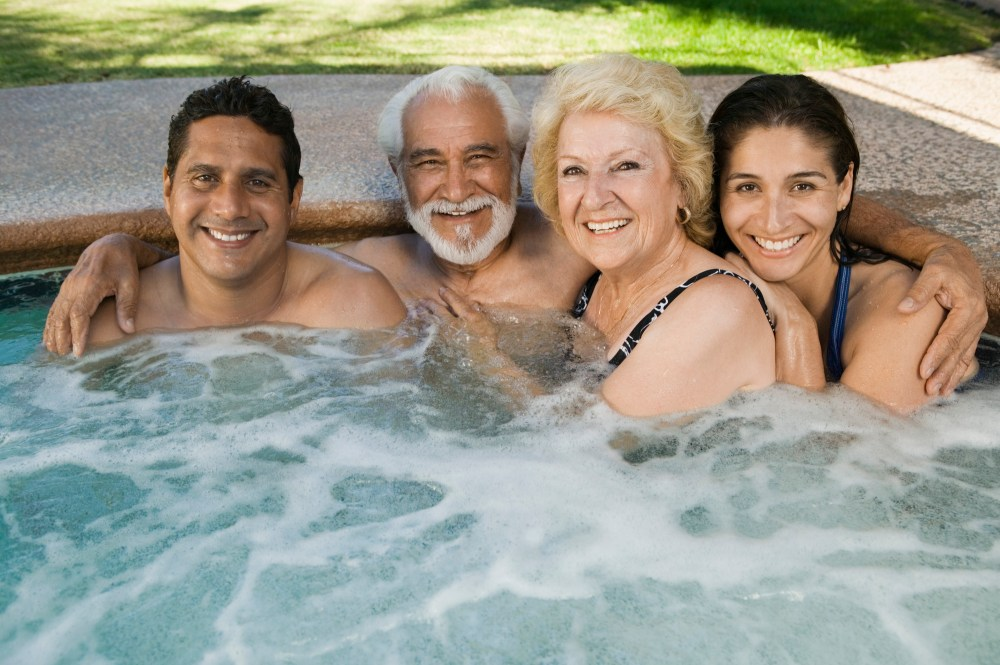 medium resolution of 4 people best portable inflatable hot tubs reviews