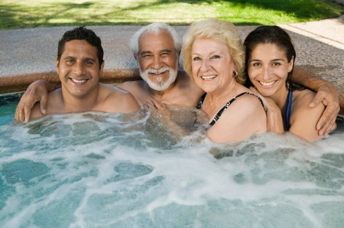 small resolution of 4 people best portable inflatable hot tubs reviews