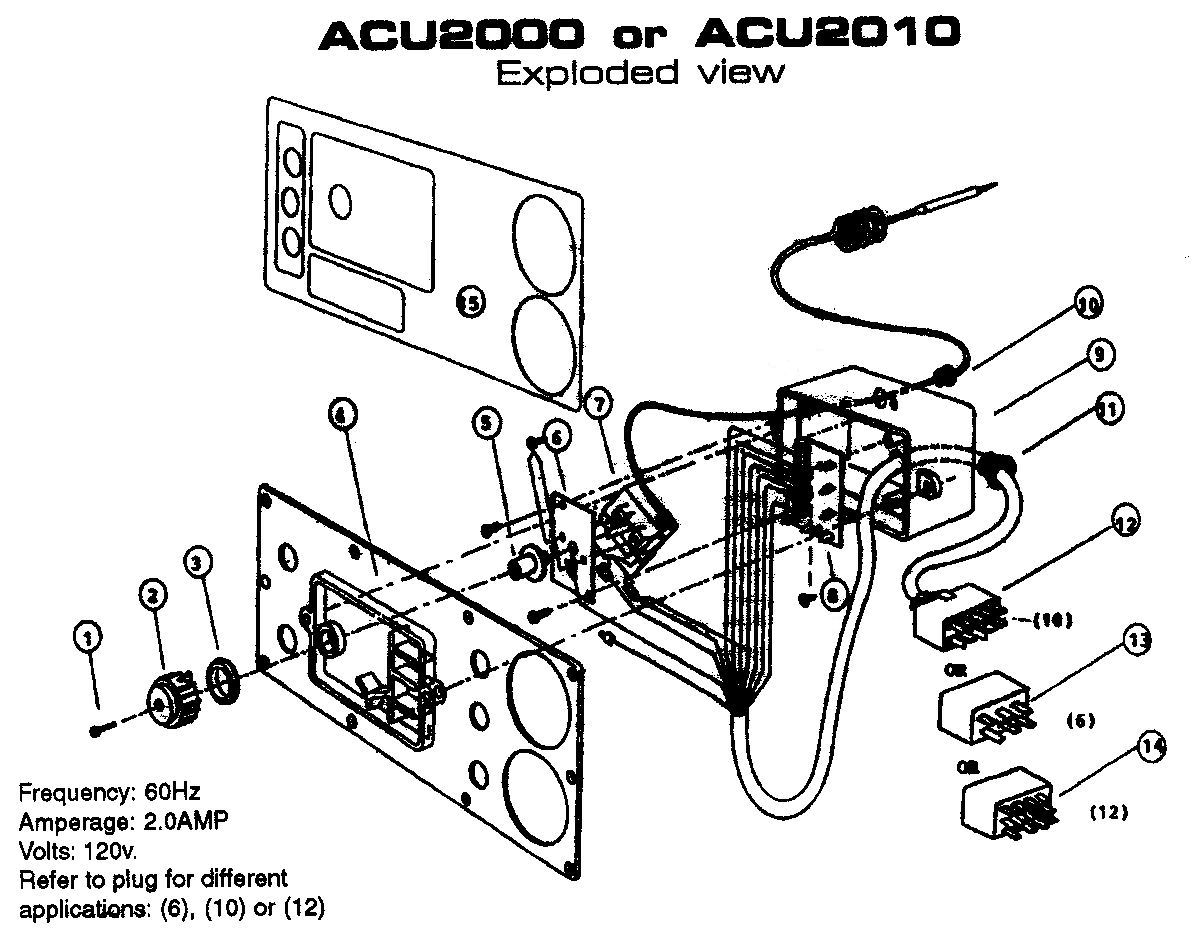 Acu Spa Topside Control Hot Tub Control Spa Control