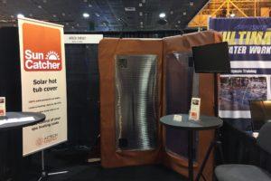suncatcher solar hot tub cover