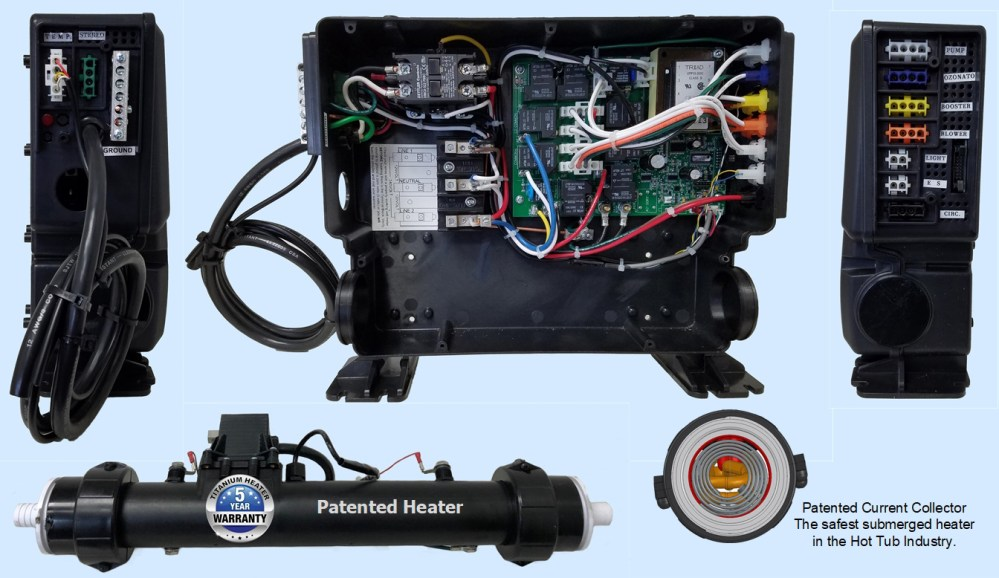 medium resolution of the usc is reliable low cost energy efficient easy to install simple to operate pleasure to own can power most saratoga spas and hot tubs worldwide