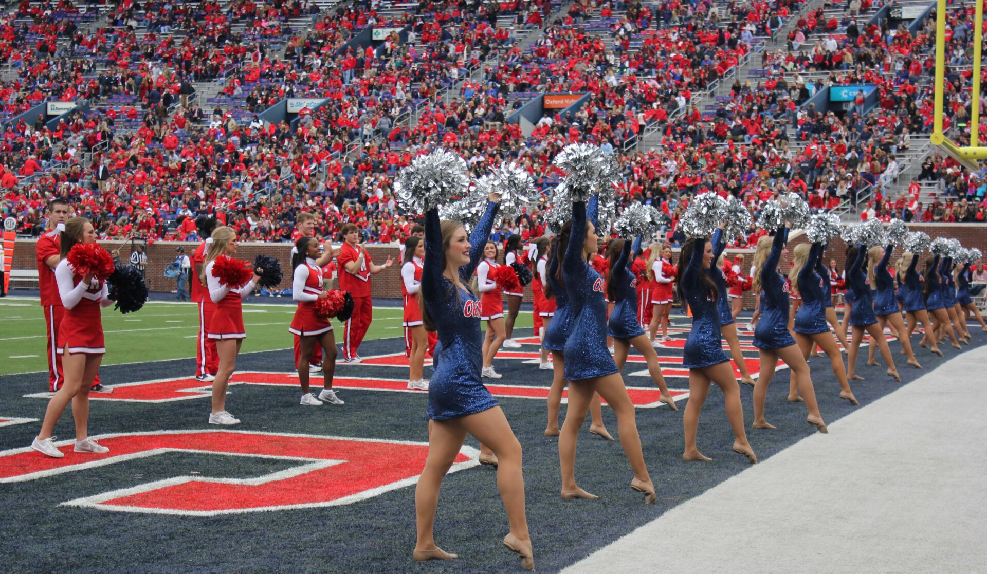 Sights Of The Game Ole Miss Rebels Match Against