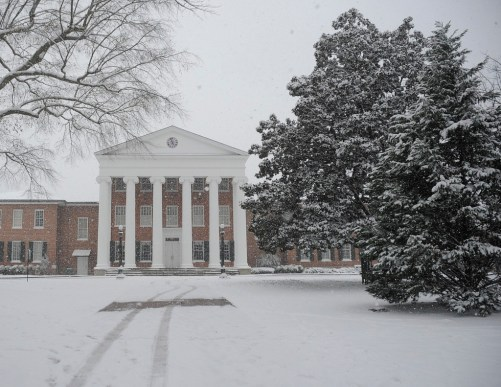 Image result for winter ole miss