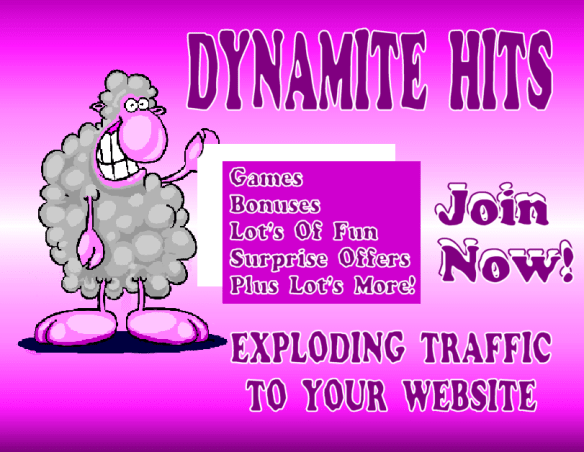 Dynamite Hits New Traffic Exchange