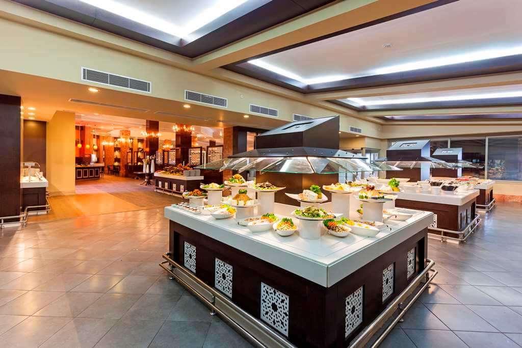 Еда, как и везде в Турции, вкусна и обильна.
