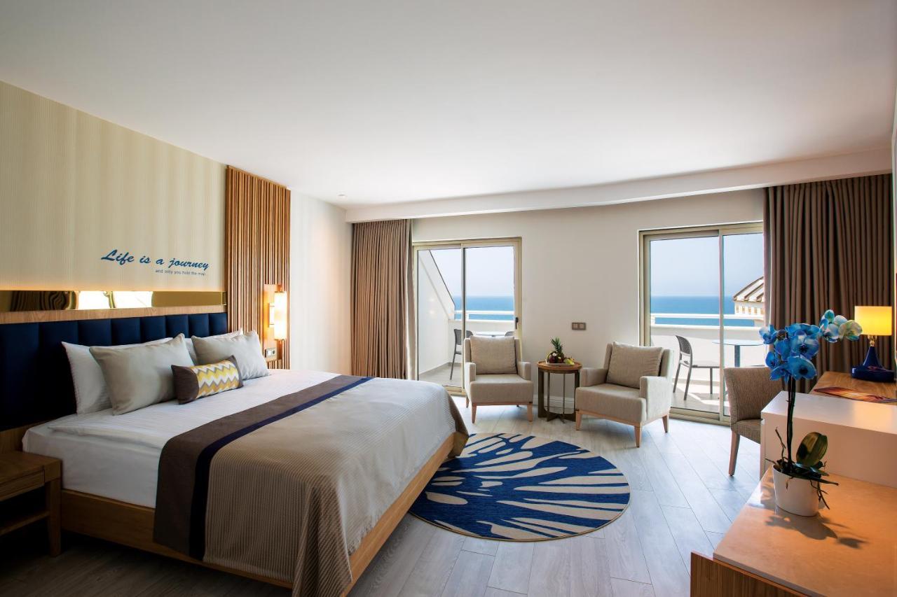 Фото нового отеля Новый отель Kirman Sidemarin Beach & Spa 5*, Сиде, Турция, номера