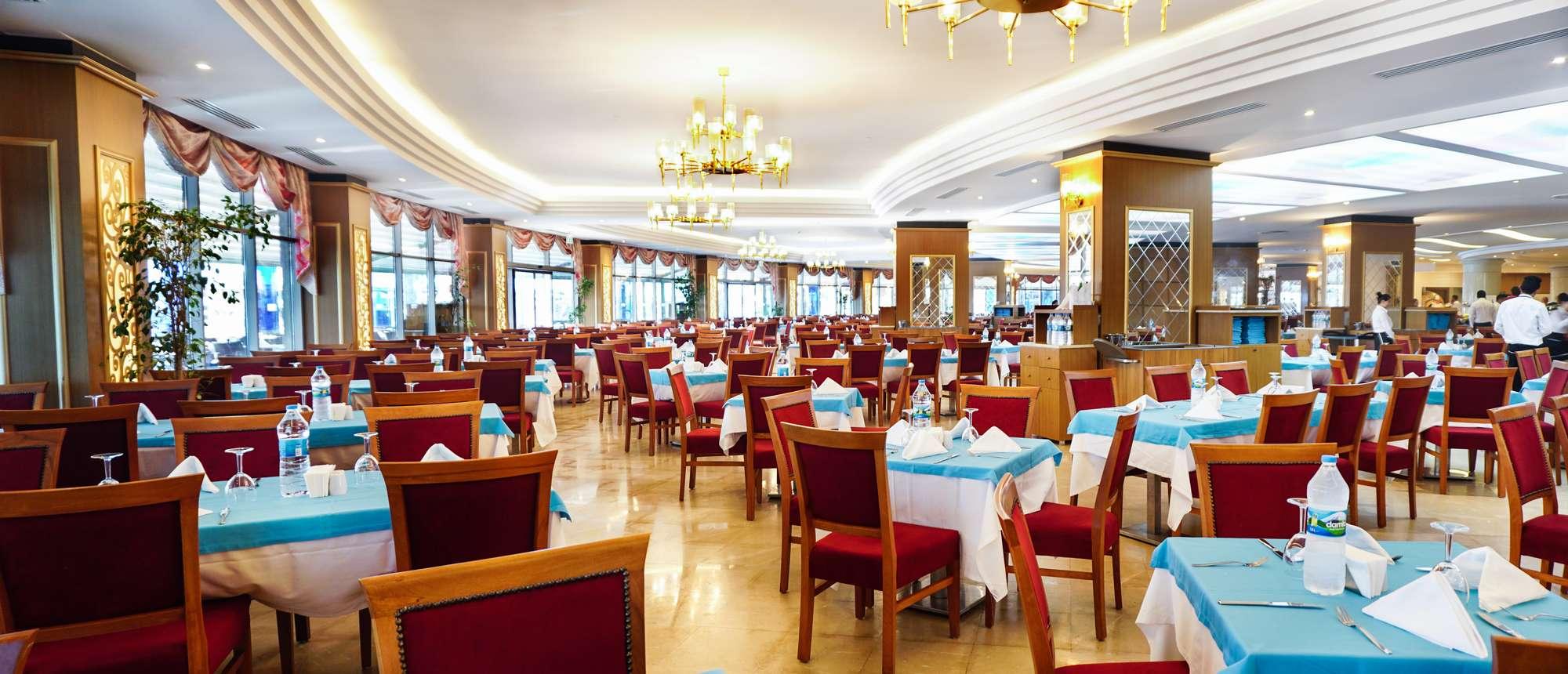 Фото нового отеля в Турции Aquasis Deluxe Resort & Spa 5* кухня