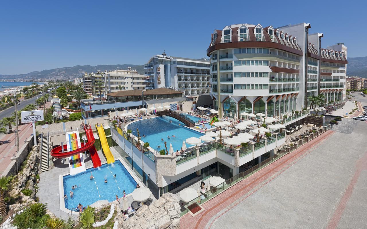 Фото нового отеля в Турции Asia Beach Resort & Spa Hotel 5* Алания