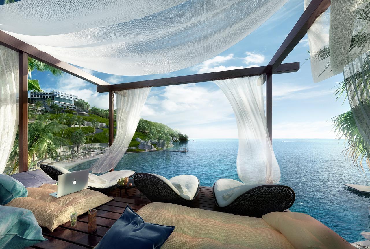 Фото нового отеля в Турции LUX* Bodrum Resort & Residences территория