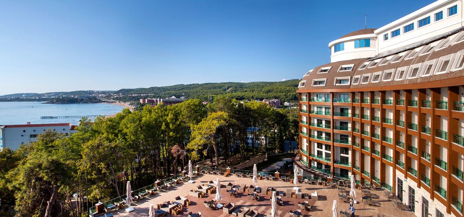 Фото нового отеля Турции Фото нового отеля в Турции Wome Deluxe Hotel 5*
