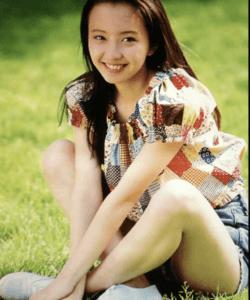 高橋由美子、若い頃