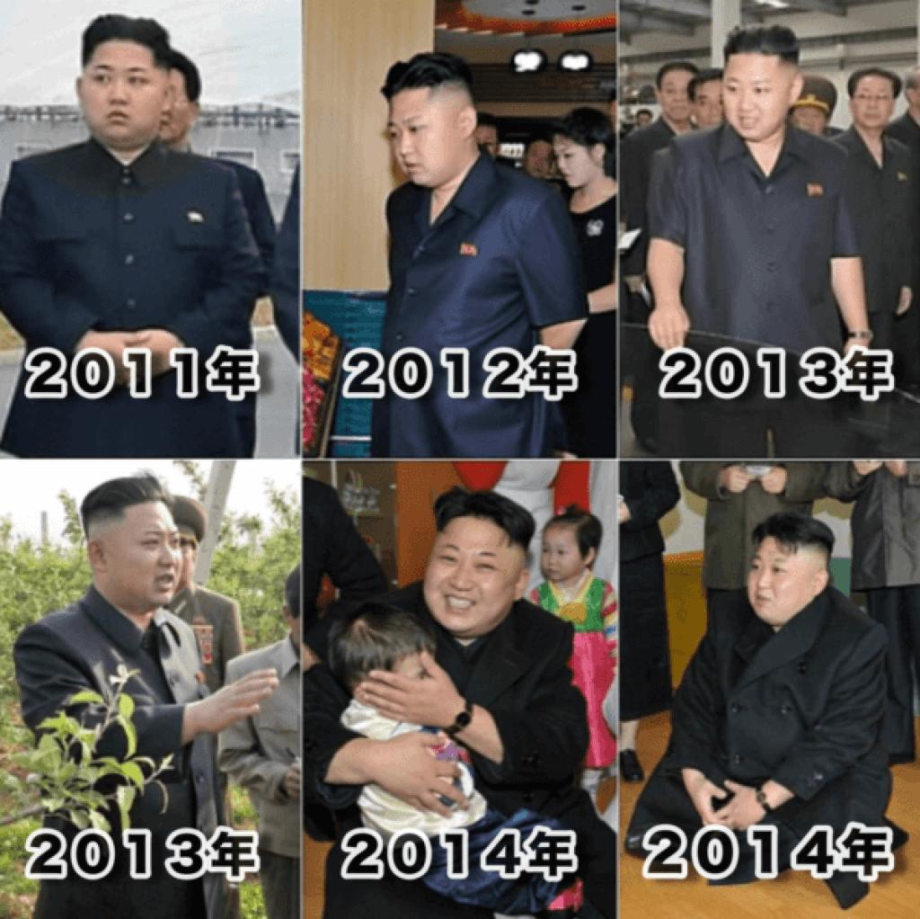 2011〜2014、金正恩