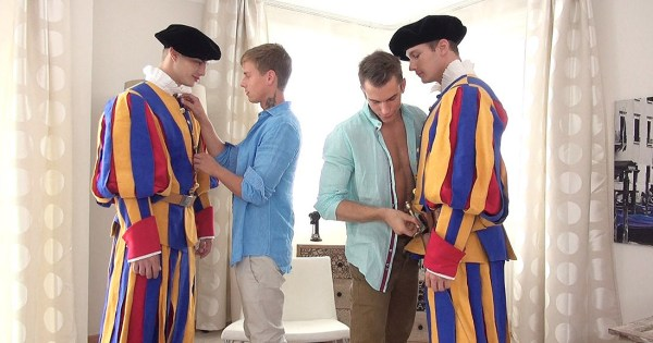 The Swiss Guard In Scandal In The Vatican 2