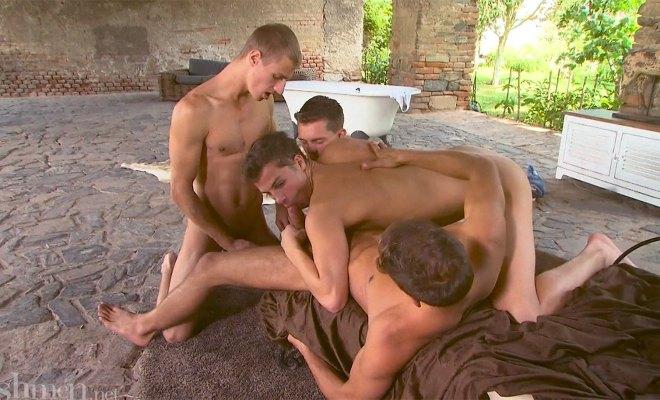 Freshmen #42: Peter Annaud Fucks 3 Horny Boys