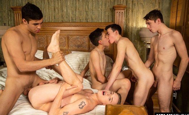 HelixStudios: Quiet On Set - The Orgy