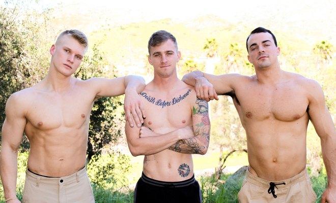 ActiveDuty: Ryan Jordan Threesome