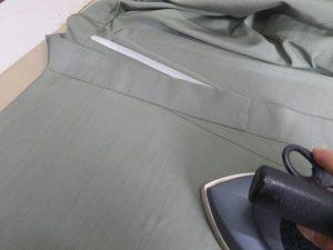 絹単衣着物クリーニング