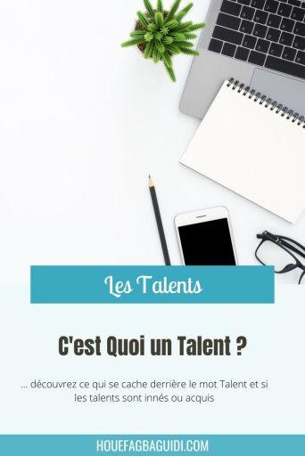 C'est Quoi un Talent ? - E026 1