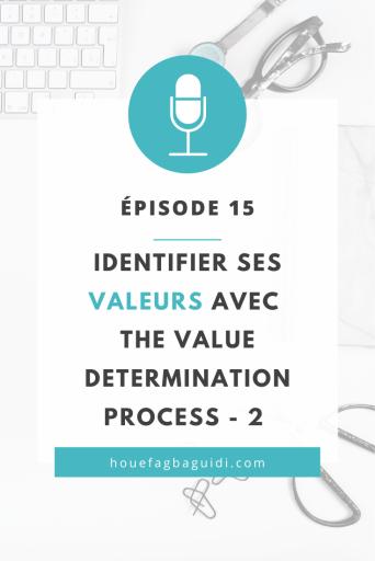 Identifier ses Valeurs avec la méthode The Value Determination - partie 2 - E015 2