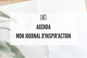 Offre de service - agenda Mon Journal d'Inspir'Action