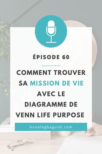 Comment Trouver sa mission de vie avec le Diagramme de Venn Life Purpose - E060 3