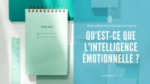 Quelles sont les compétences de l'Intelligence Émotionnelle – partie 1 – E070