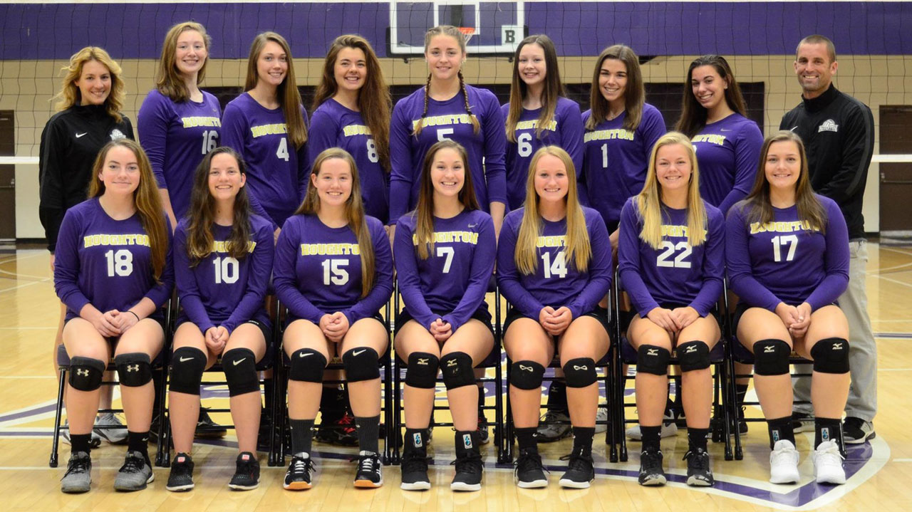 Women's volleyball team picture