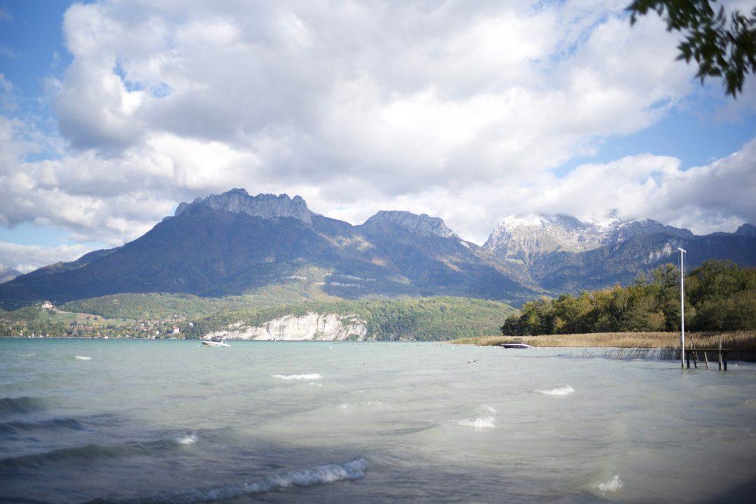 Lac d'annecy depuis Sevrier