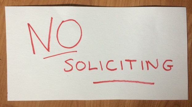 Hour 25 Virtual Solutions - No Soliciting