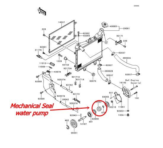Air Bercampur Oli Mesin hingga Oli Mesin Se Putih Susu