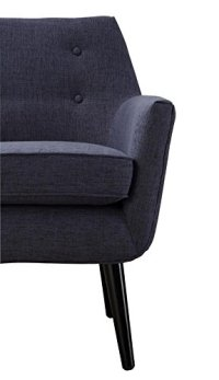TOV Furniture Clyde Collection Mid Century Upholstered ...