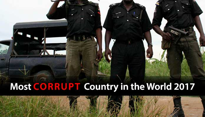 Most Corrupt Country in the World 2017