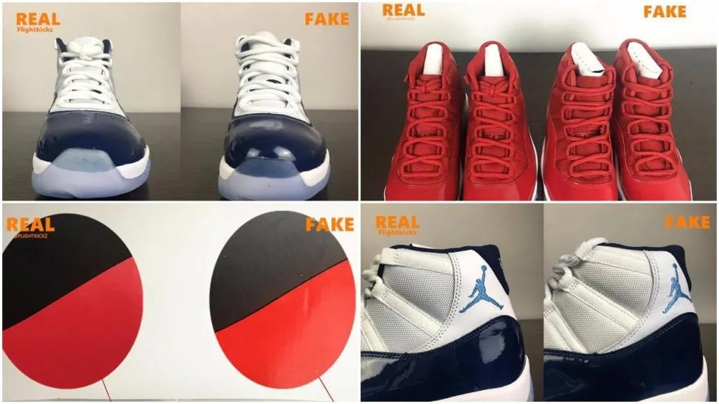 6c7df884 ... Calabasas With Forged StockX Tag Good News And Bad News Housakicks.  2018 February 16 AIVAnet. Air Jordan 11 Gym Red Midnight Navy Which Is Real  Or Fake ...