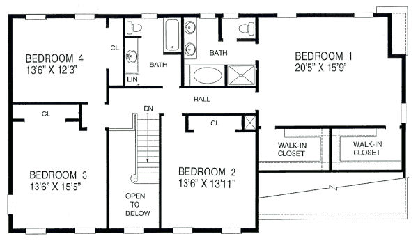 House 21122 Blueprint details, floor plans