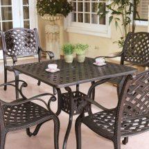 aluminum patio furniture touch
