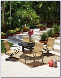 aluminum patio furniture touch