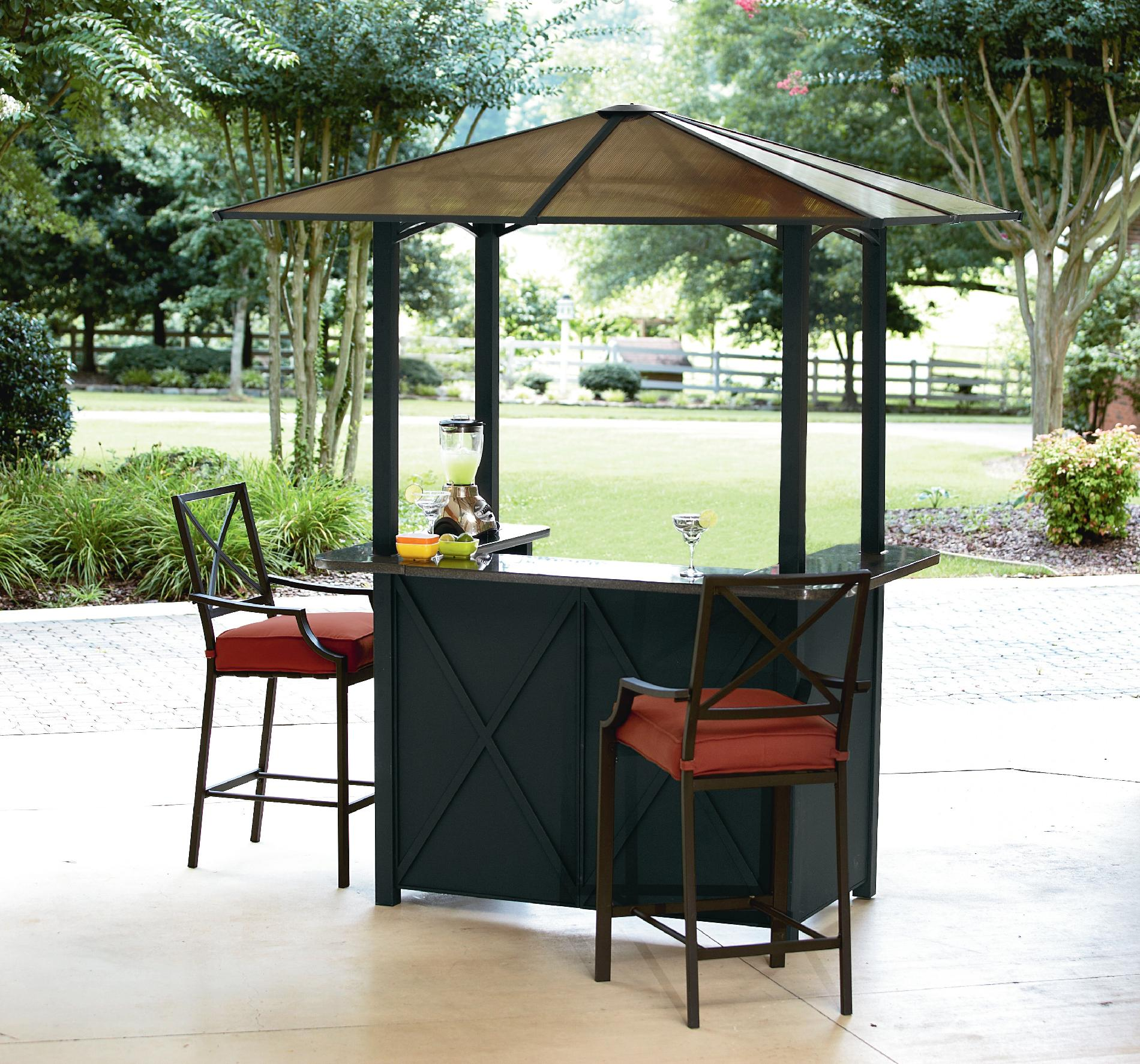 Outdoor Bar Sets with Canopy  Bring Your Outdoors To Life