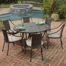 special features of patio dining