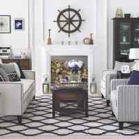 Living room decorating ideas in nautical decor  HOUSE ...