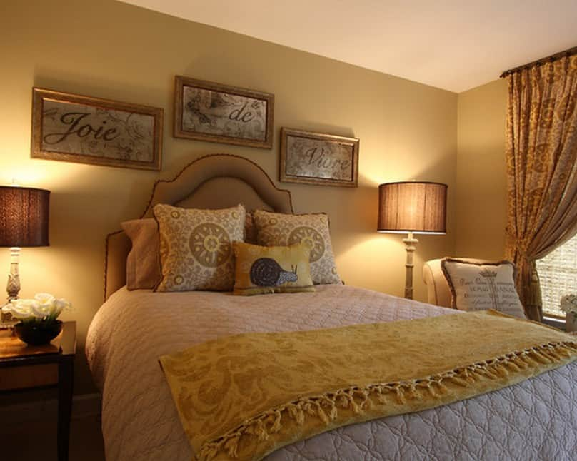 Bedroom decorating ideas French style bedroom  HOUSE INTERIOR