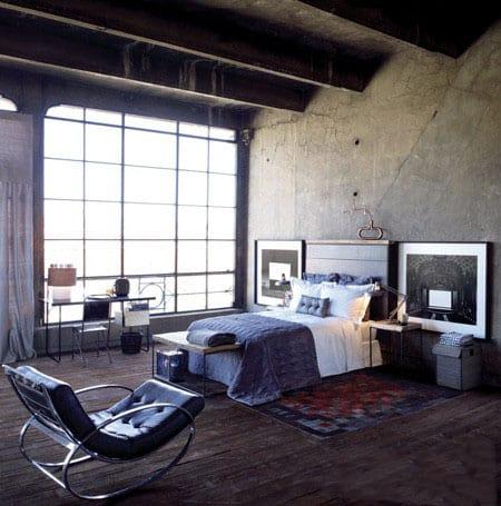 Bedroom interior design loft bedroom
