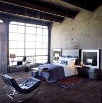 Bedroom interior design: loft bedroom